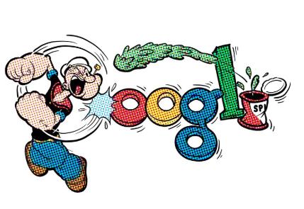 Popeye en Google