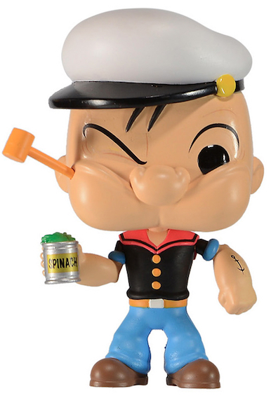 Figura Funko de Popeye