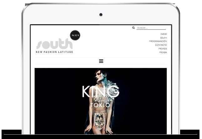 tablet website view