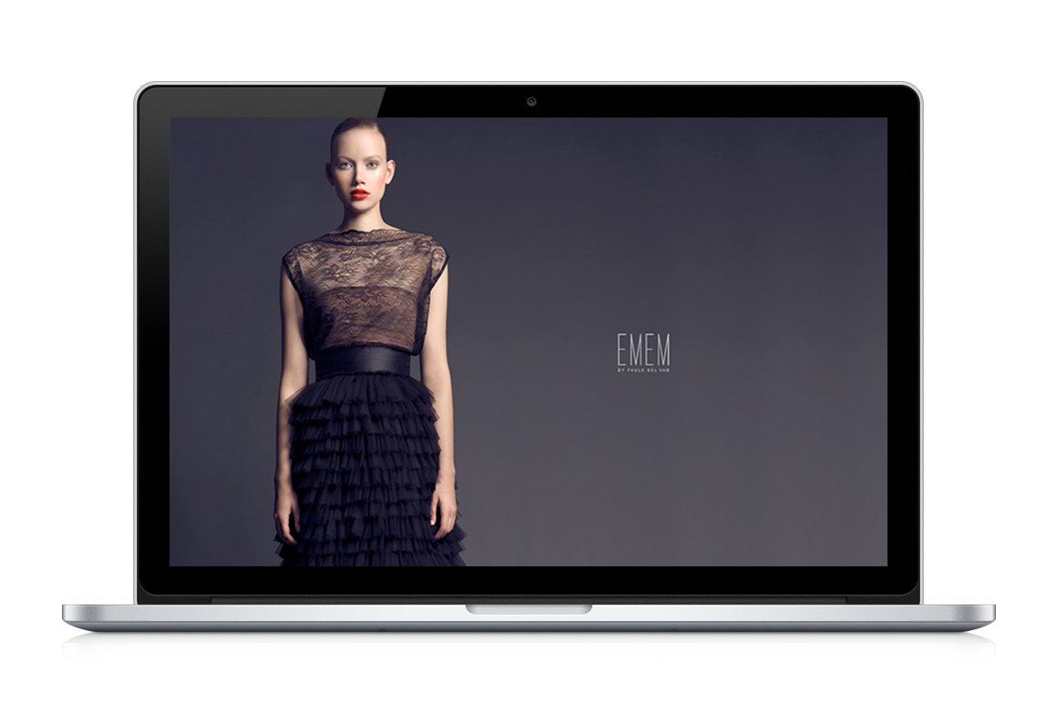Web development:EMEM by Paula del vas