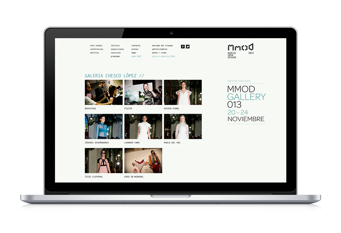 web development of Mmod 2013