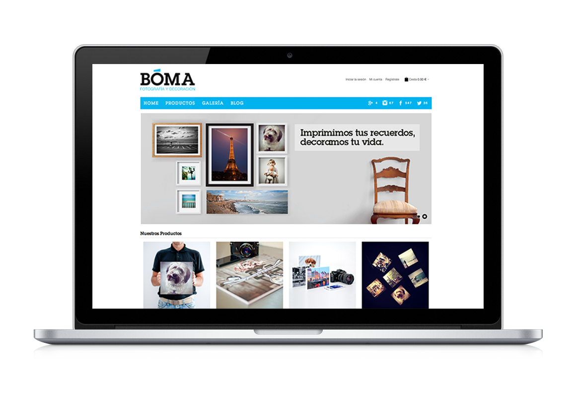 Web development:BOMA