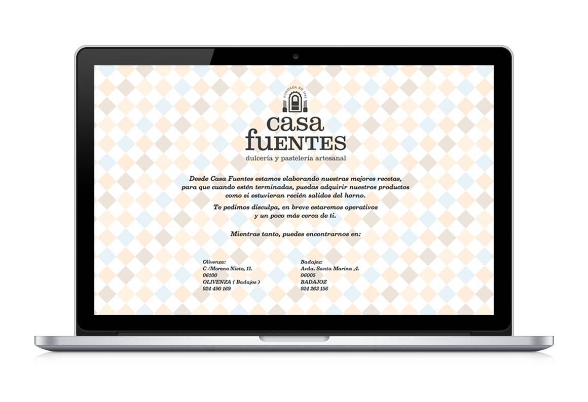 Web development:Casa Fuentes