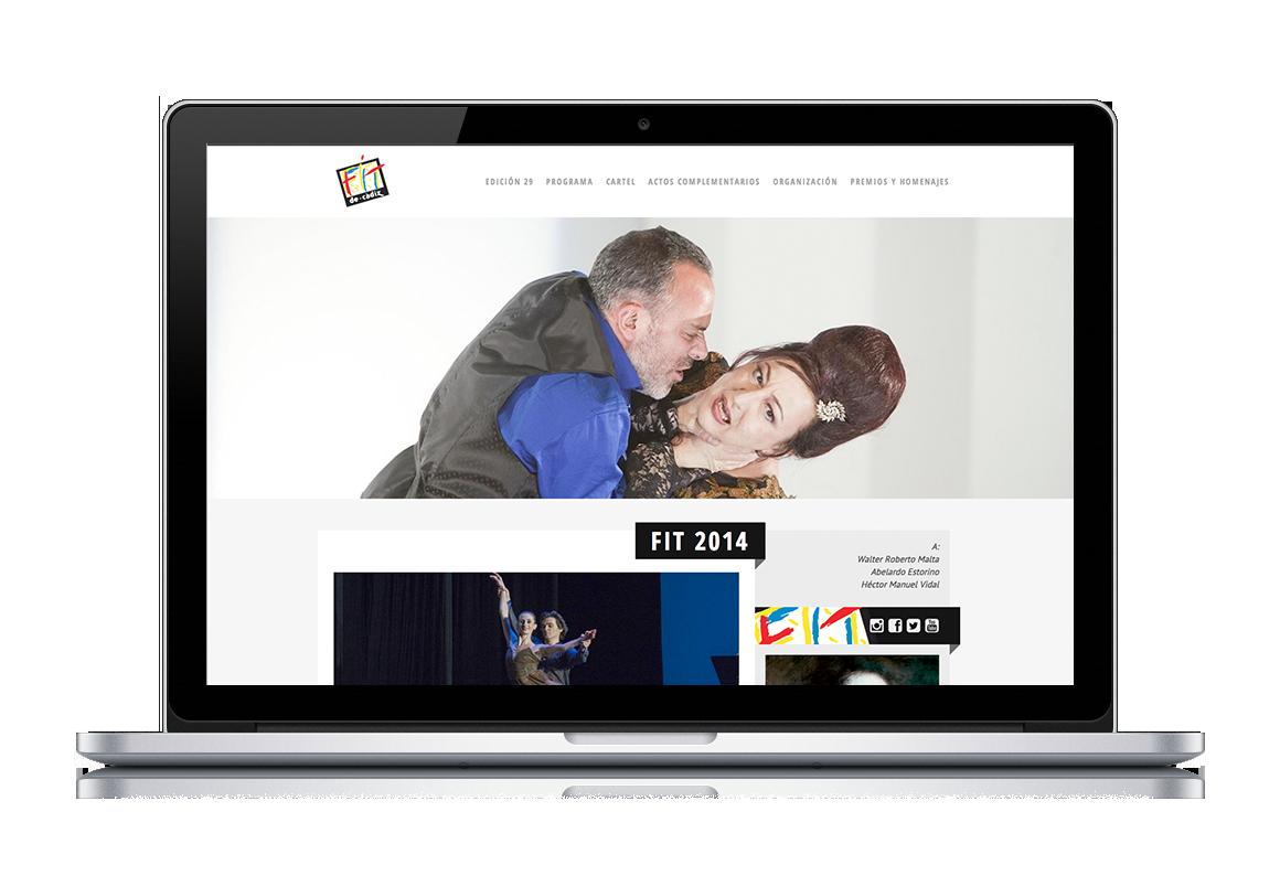 web development of FIT de Cádiz 29