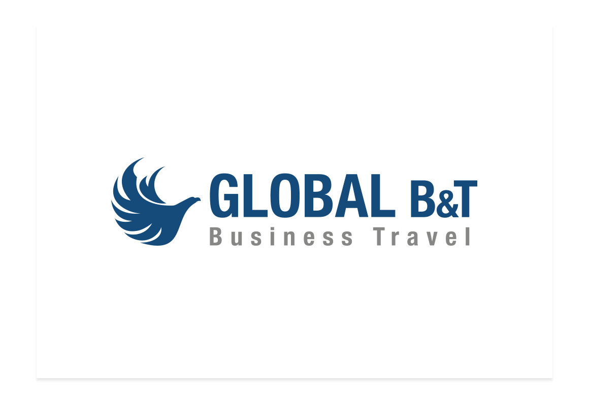 Logotipo Global Business Travel