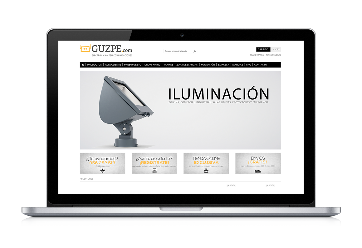 shop online of Guzpe