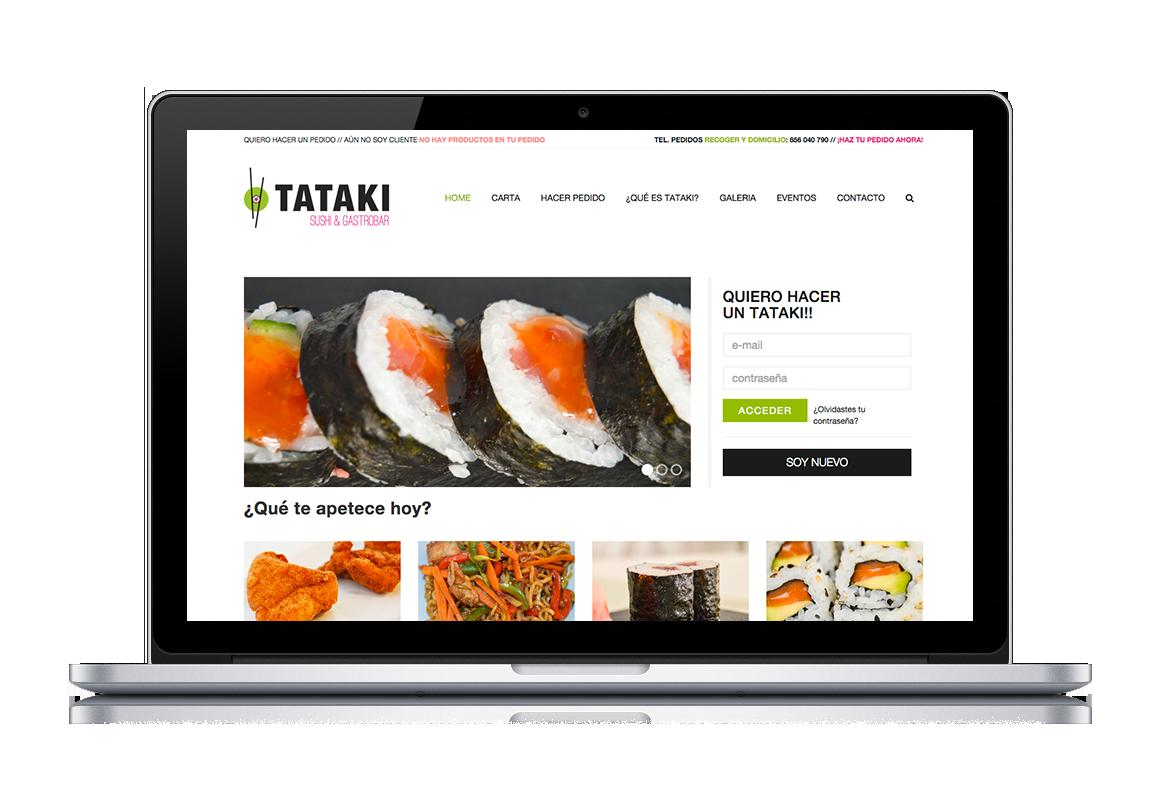 web development of Tataki