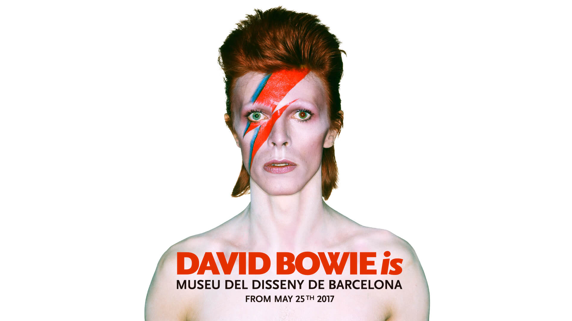 Logotipo David Bowie is