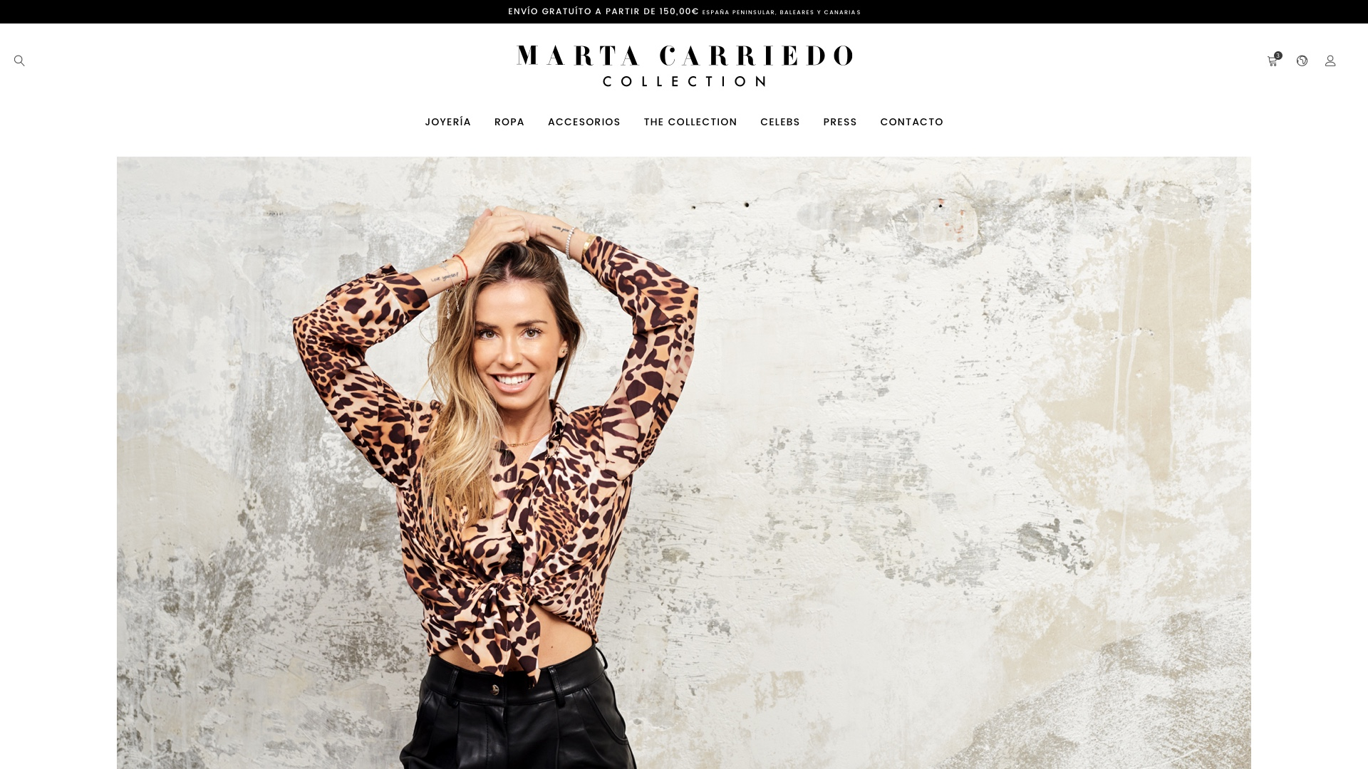 Image of Shop online Marta Carriedo Collection